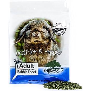 Rabbit Food, Adult by Sherwood Pet Health, 10 lb. - Timothy blend (Grain & Soy-Free) (Vet Used)
