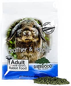 Sherwood Adult Rabbit Food - Timothy blend (Grain & Soy-Free) (Vet Used) (10 lb)