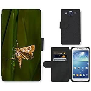 Super Stella Cell Phone Card Slot PU Leather Wallet Case // M00104610 Butterfly Nature Insect // Samsung Galaxy S3 S III SIII i9300