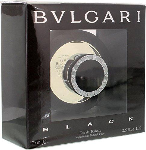 Black By Bvlgari Eau De Toilette Spray For Men 2.5 oz