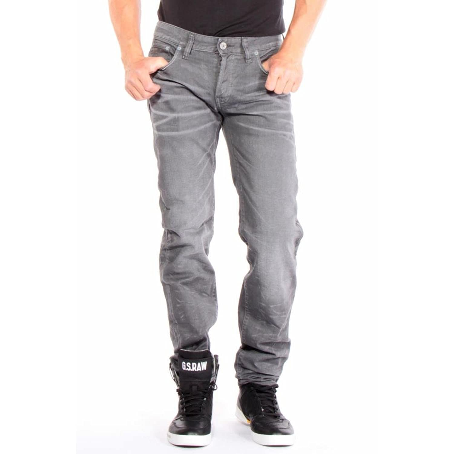 G-star Men's 3301 Low Tapered Jeans