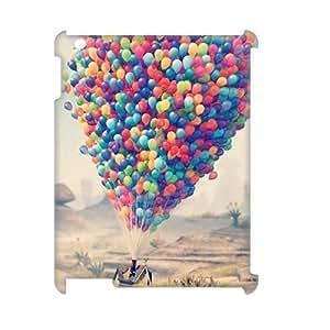 ALICASE Diy Cover Custom Case Balloon For IPad 2,3,4 [Pattern-1]