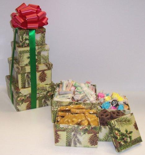 Scott's Cakes 4 Tier Pine Cone Box Beach Lovers Surprise