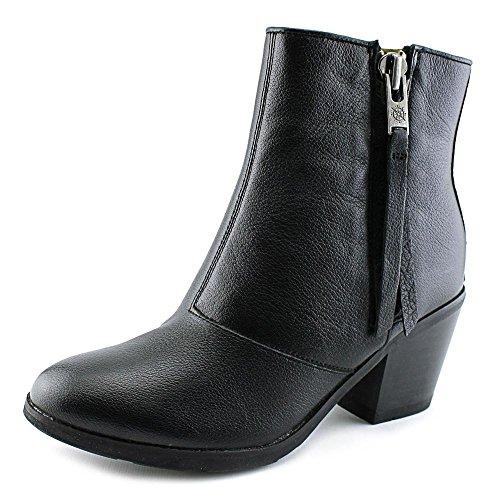 Bussola Stil Reikiavik Zip Mid-high Kvinner Oss Syv Svart Ankel Boot