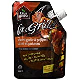 La Grille, Grilling Made Easy, Roasted Garlic & Peppers Wet Rub, 200ml