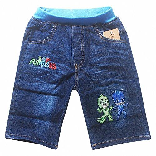 Owone Box PJ Masks Boys Girls Kids Denim Shorts Sports Style Jeans