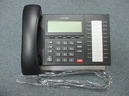 Toshiba Strata CIX DP 5032 SD Charcoal 20 Button Display Speaker Telephone BK #B