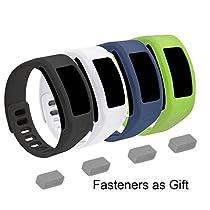 EverAct™ Colorful Replacement Bands for Garmin Vivofit ( Vivofit 1 ) 4 pack