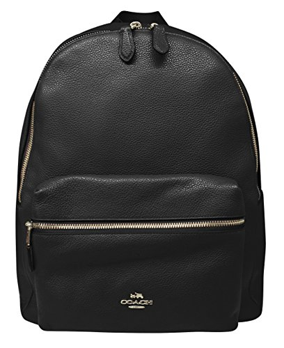 Coach Charlie Pebble Leather Backpack ()