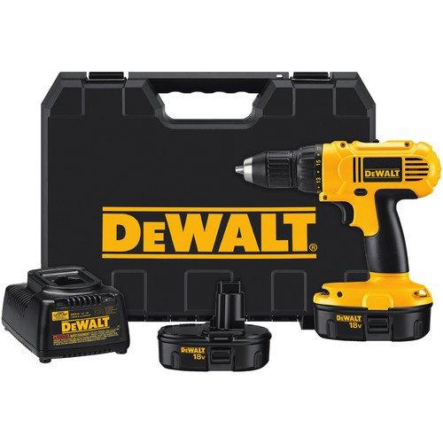 028877475233 - DEWALT DC759KA 18-Volt NiCad 1/2-Inch Cordless Drill/Driver Kit carousel main 0
