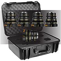 Veydra V1-5LENSKITCASEI | Mini Prime 5 Lens Starter Kit T2.2 Micro 4/3 Imperial with Case