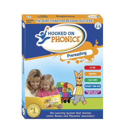 Hooked on Phonics: Prereading / Essentials Edition / Ages 3 - 5