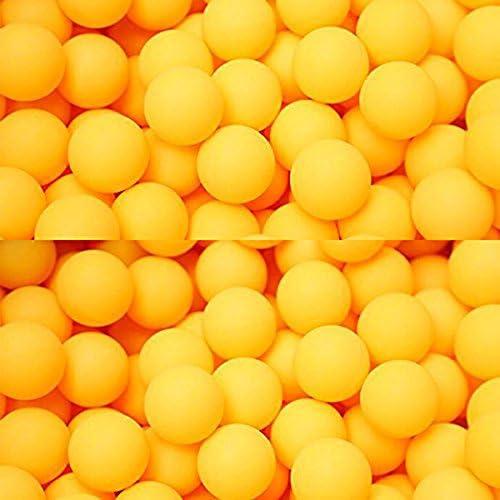 pong balls Gaoominy 50 pcs 40 mm table tennis training balls Yelow//White Random
