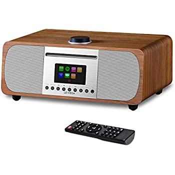 le meilleur fabrication habile modélisation durable LEMEGA M5+ All-In-One HIFI Music System with CD Player, Internet Radio, FM  Radio, Spotify, Bluetooth, WIFI, 2.1 Channel Stereo Speaker, Headphone-out,  ...