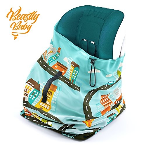 Car Seat Travel Gate Check Bag By Beastly Baby