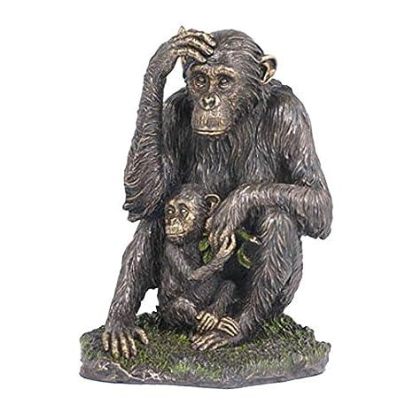 Amazon.com: XoticBrands - Chimpancé decorativo para bebé ...