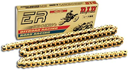 D.I.D 520MX-92 Gold 92-Link High Performance Heavy Duty Chain with Connecting Link