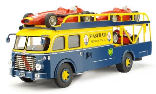 1/43 マセラッティ トランスポーター マセラティ250F×3台 1957年イタリアGPセット RTS03