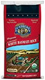 Lundberg Family Farms Organic California White Basmati Rice, 25-Pound