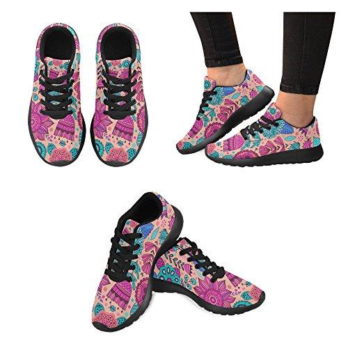 de Running Negro Lona de Mujer Zapatillas Zenzzle Negro para Zvwpxz