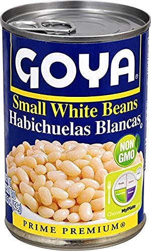 amazon com goya small white beans habichuelas blancas 15 5 oz rh amazon com