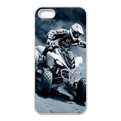 Yamaha Sports coque iPhone 4 4S cellulaire cas coque de téléphone cas blanche couverture de téléphone portable EOKXLLNCD20880