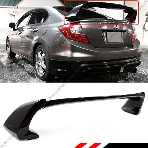 FYRALIP Painted Factory Print Code Trunk Lip Wing Spoiler For BMW 4 series F32 Coupe 2014up Fast Delivery Easy Installation Perfect Fit 668 Jet Black