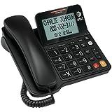 Best Corded With Speakerphones - AT&T Speakerphone, Large Tilt Display, Corded, Black Review