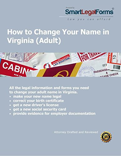 VA Adult Name Change [Instant Access] by SmartLegalForms, Inc.