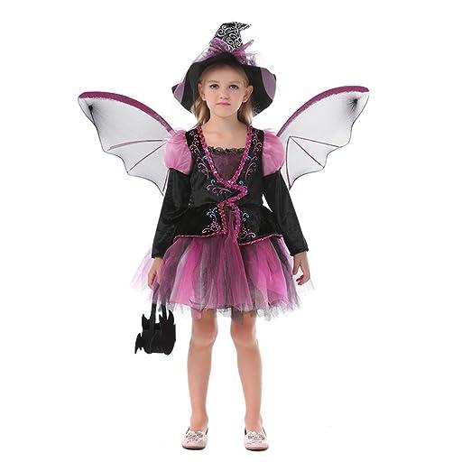 Disfraces de halloween para niños Traje De Bruja Disfraz ...