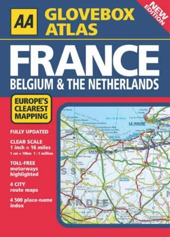 Download Aa Glovebox Atlas France: Belgium & The Netherlands PDF