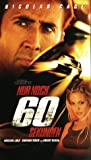 Gone in Sixty Seconds [VHS]