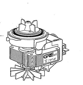 Ciclomotor Bomba de desagüe, Smeg - Brandt - Ariston Merloni - COD ...