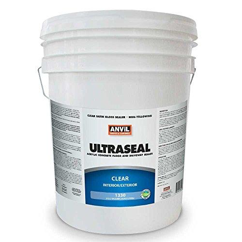 Asphalt Coating (Anvil UltraSeal Elastomeric Roof Coating, 5 Gallon)