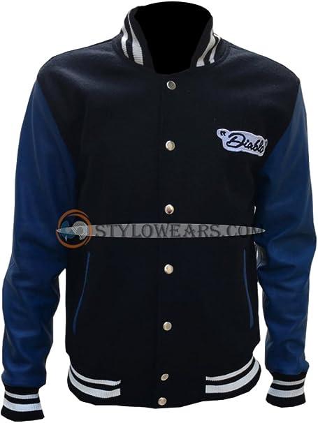 Suicide Squad El Diablo Letterman Varsity Jacket Money Back Guarantee