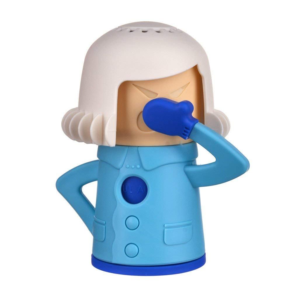 Tvoip Chilly Mama Baking Soda Fridge And Freezer Odor Absorber & Freshener Holder, Blue