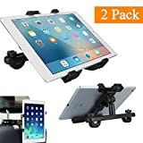 Tablet Holder for Car, ALORR Tablet Mount Adjustable Universal Holder for Cat Headrest, 2 Pack 360 Degree Rotation Car Mount for Tablet(7-11''), New iPad 9.7 2017, iPad Pro 10.5/9.7, iPad Mini 4/3/2/1