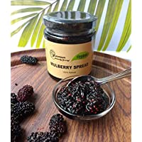 Yummium Handmade Organic Mulberry Spread - 100% Natural Free from Artificial Preservatives - 225GM