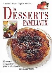 Les desserts familiaux