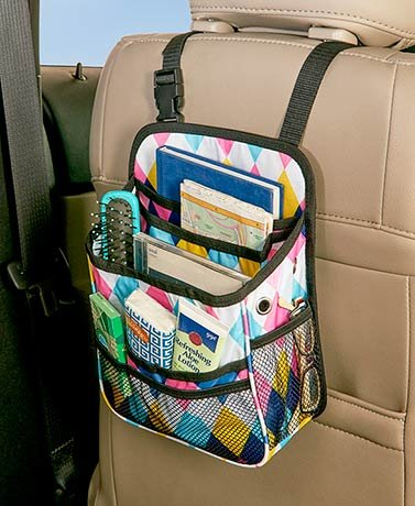 Backseat Car Organizers , Argyle