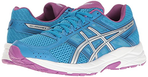 ASICS Women's Gel-Contend 4 Running Shoe, Diva Blue/Silver/Orchid, 5 M US by ASICS (Image #6)