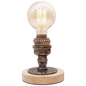 Nostálgico Mini Lámpara Mesa Pequeña Regulable Escritorio Lectura ...