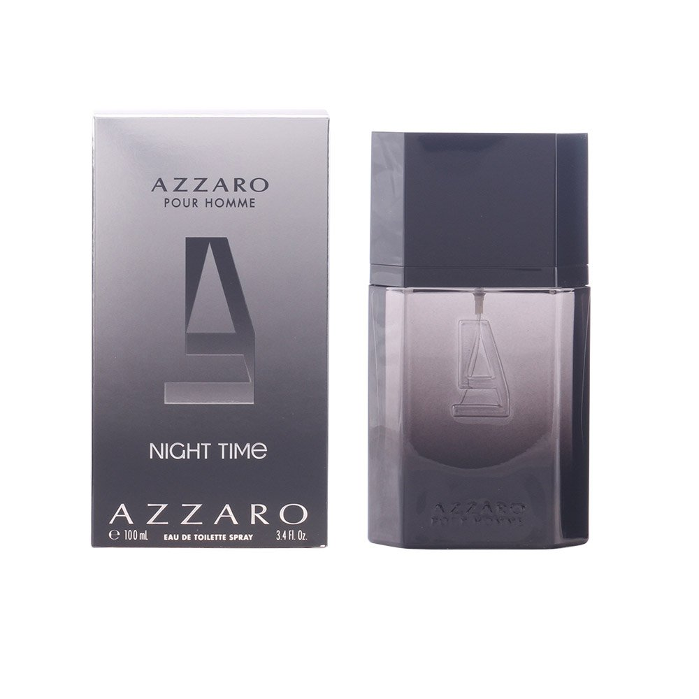e3bc99c34a7e Buy Azzaro Pour Homme Night Time for Men, 100ml Online at Low Prices in  India - Amazon.in
