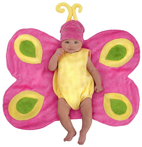 Beautiful Butterfly Caterpillar Swaddle Blanket Baby Infant Costume - Newborn -