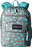 JanSport Big Student Classics Series Backpack - Grey Rabbit Sylvia Dots