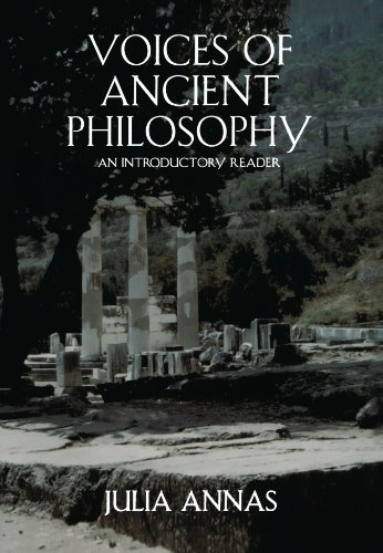 Voices of Ancient Philosophy: An Introductory Reader (Introductory Readings In Ancient Greek And Roman Philosophy)