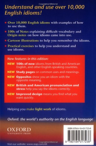 Buy Oxford Idioms Dictionary For Learners Of English Book Online At