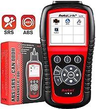 Autel Autolink AL619 OBD2 Scanner ABS SRS Scan Tool, Apague la Herramienta de Diagnóstico Check Engine Light