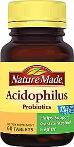 Nature Made Acidophilus Probiotics, 60 Count