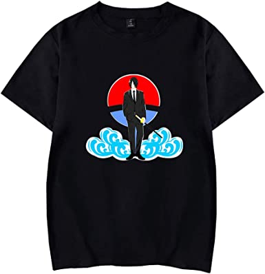 Naruto Camiseta Versión Coreana para Hombre Camisa Hawaiana de Manga Corta Impresa Playa Vacaciones Estilo Salvaje Camisa de Manga Corta: Amazon.es: Ropa y accesorios